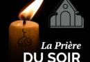 la prière du soir