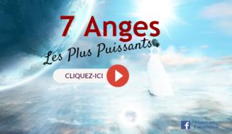Les 7 Anges Les Plus Puissants De Dieu Qui Gouvernent