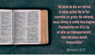 Verset Biblique Sur La Foi – Ces Versets Qui Changent La Vie